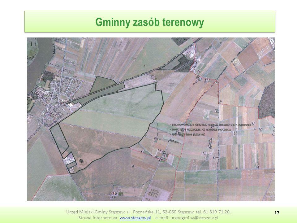 Gminny zasób terenowy Urząd Miejski Gminy Stęszew, ul.