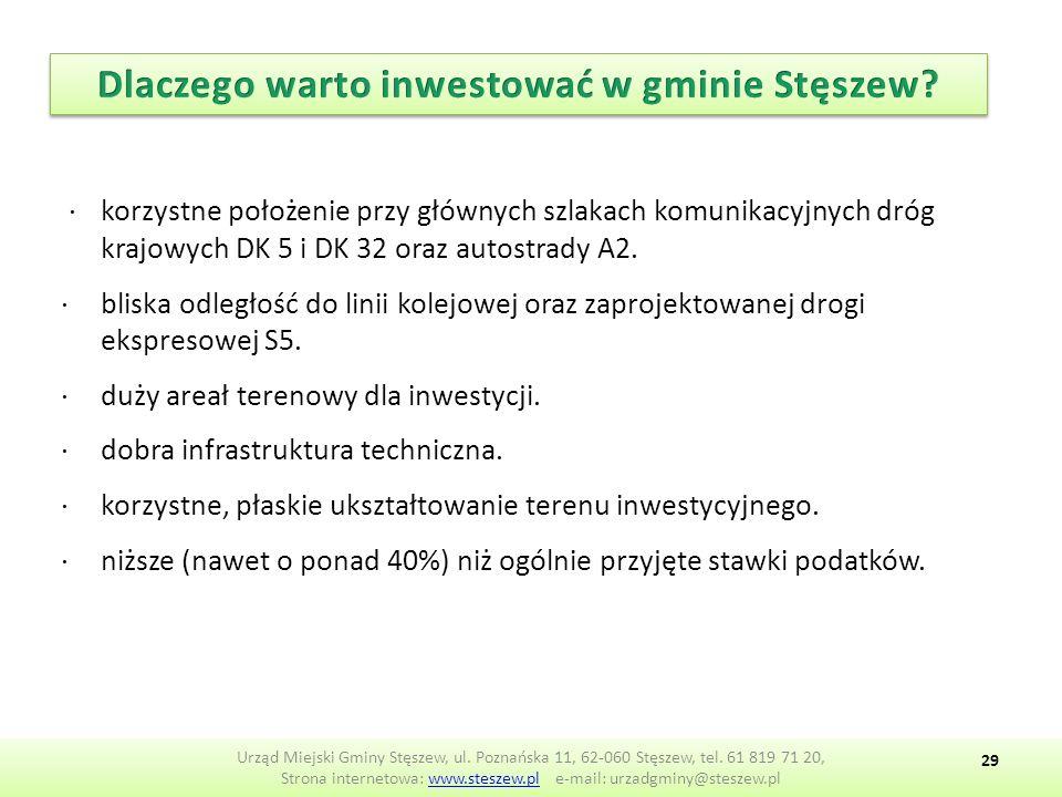 Urząd Miejski Gminy Stęszew, ul.Poznańska 11, 62-060 Stęszew, tel.