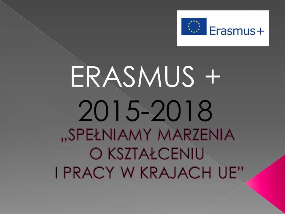 ERASMUS + 2015-2018