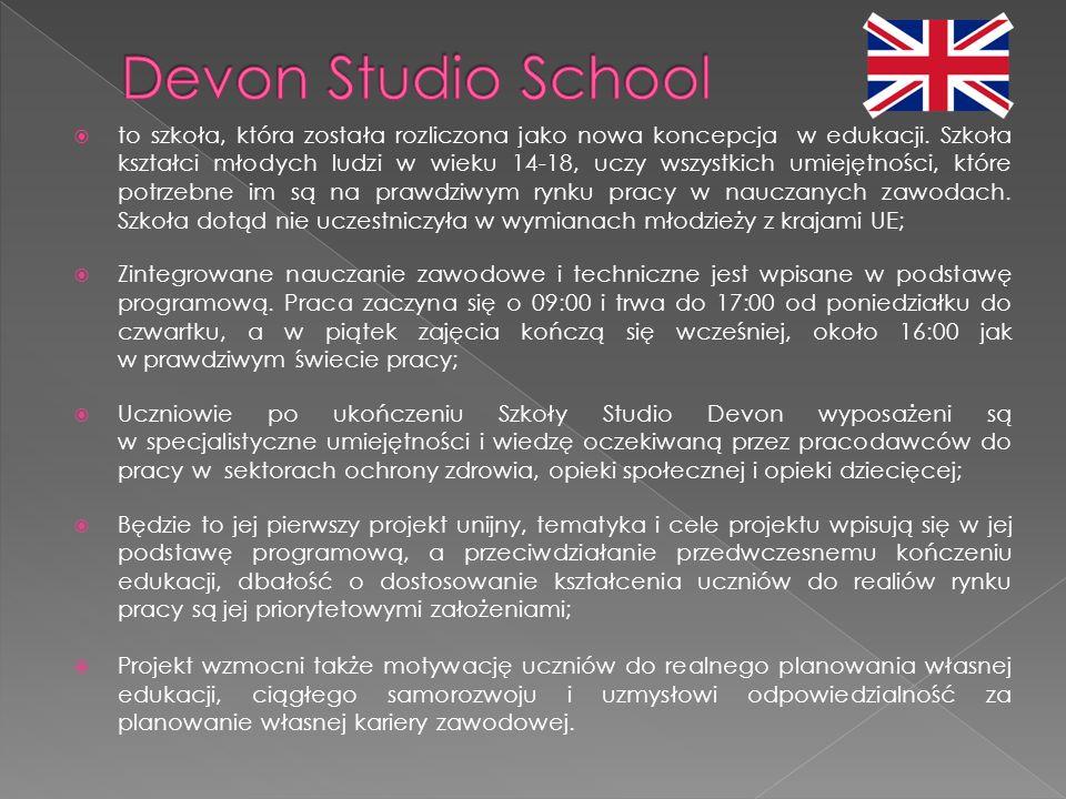  to szkoła, która została rozliczona jako nowa koncepcja w edukacji.