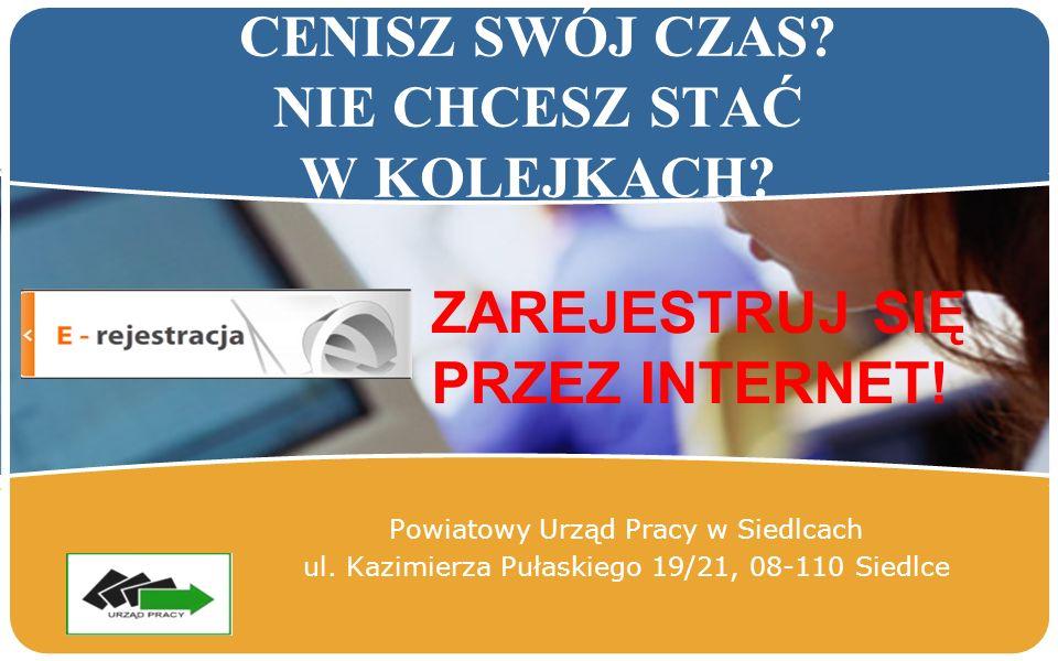 LOGO Powiatowy Urząd Pracy w Siedlcach ul.