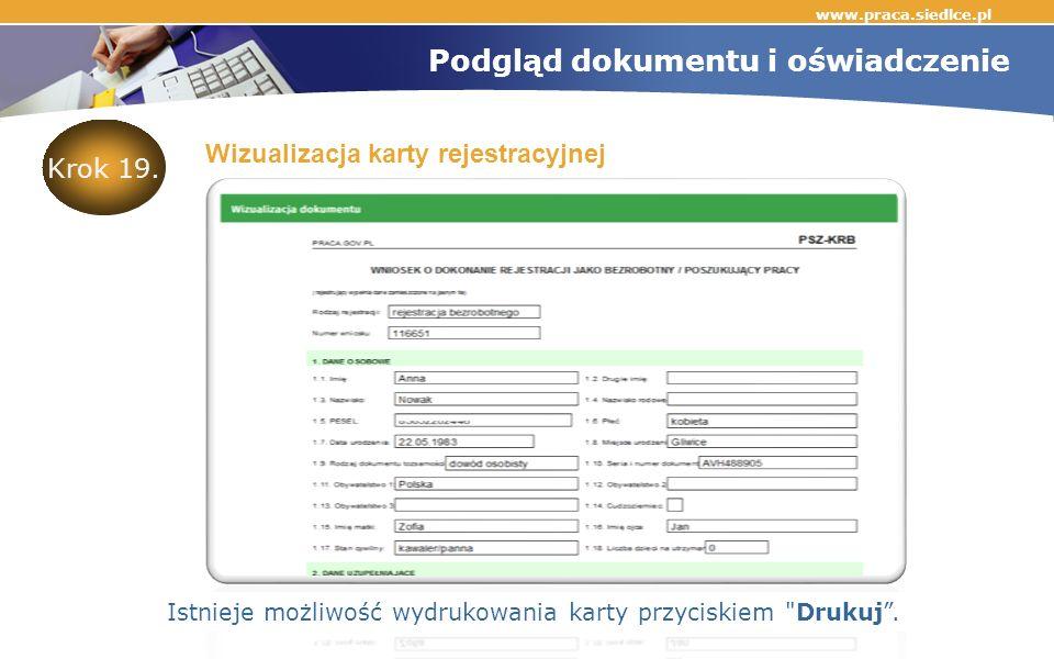www.praca.siedlce.pl Krok 19.