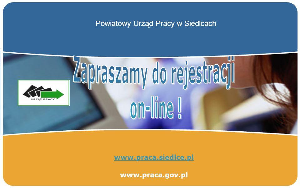 LOGO www.praca.siedlce.pl www.praca.gov.pl Powiatowy Urząd Pracy w Siedlcach