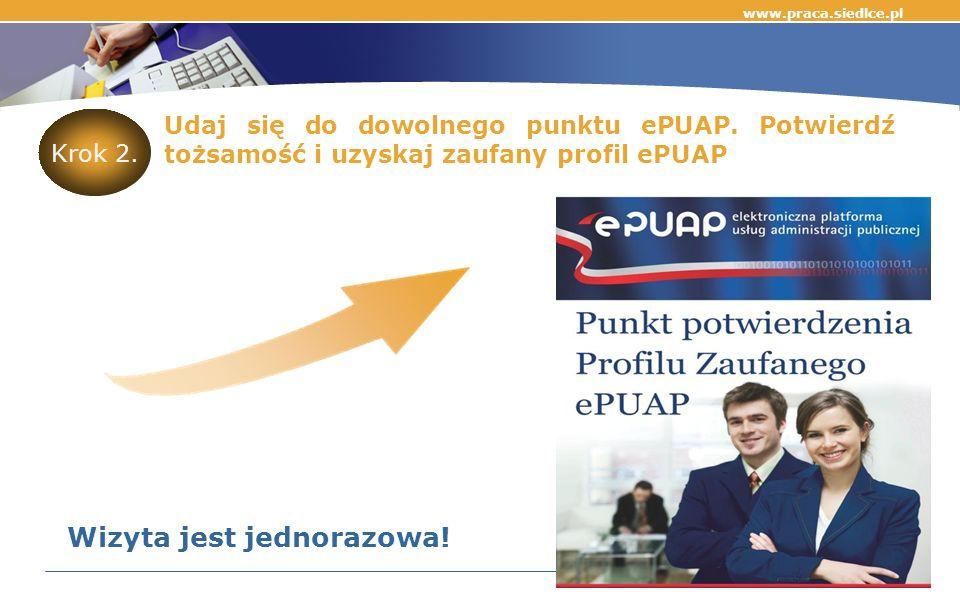 Udaj się do dowolnego punktu ePUAP.