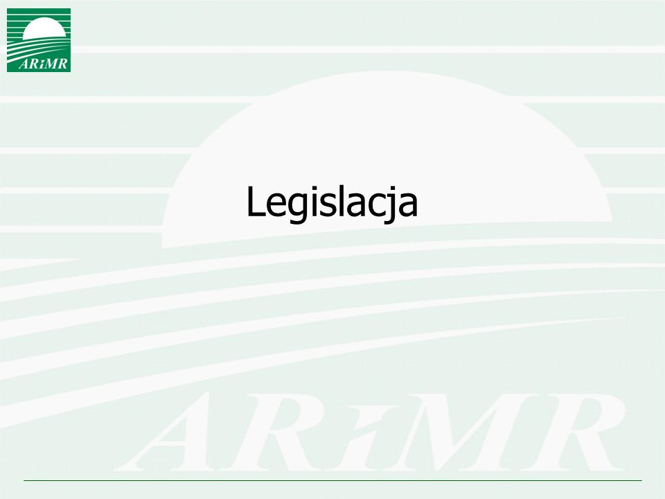 Legislacja UE  Rozporządzenie Parlamentu Europejskiego i Radu EU Nr 1303/2013 z 17 grudnia 2013 ustanawiające wspólne przepisy dotyczące Europejskiego Funduszu Rozwoju Regionalnego, Europejskiego Funduszu Społecznego, Funduszu Spójności, Europejskiego Funduszu Rolnego na rzecz Rozwoju Obszarów Wiejskich oraz Europejskiego Funduszu Morskiego i Rybackiego oraz ustanawiające przepisy ogólne dotyczące Europejskiego Funduszu Rozwoju Regionalnego, Europejskiego Funduszu Społecznego, Funduszu Spójności i Europejskiego Funduszu Morskiego i Rybackiego oraz uchylające rozporządzenie Rady (WE) nr 1083/2006  Rozporządzenie Parlamentu Europejskiego i Rady Nr 1305/2013 z 17 grudnia 2013 w sprawie wsparcia rozwoju obszarów wiejskich przez Europejski Fundusz Rolnych na Rzecz Rozwoju Obszarów Wiejskich (…) (uchylające rozporządzenie 1698/2005) – Rozporządzenie EFRROW  Rozporządzenie Parlamentu Europejskiego i Rady Nr 1306/2013 z 17 grudnia 2013 w sprawie finansowania wspólnej polityki rolnej, zarządzania ją i monitorowania (…) (uchylające rozporządzenie 1290/2005)  Rozporządzenie Delegowane Komisji Nr 807/2014 z dnia 11 marca 2014 uzupełniające rozporządzenie 1305/2013  Rozporządzenie wykonawcze Komisji Nr 808/2014 z dnia 17 lipca 2014 do rozporządzenia 1305/2013  Rozporządzenie wykonawcze Komisji Nr 809/2014 z dnia 17 lipca 2014 do rozporządzenia 1306/2013