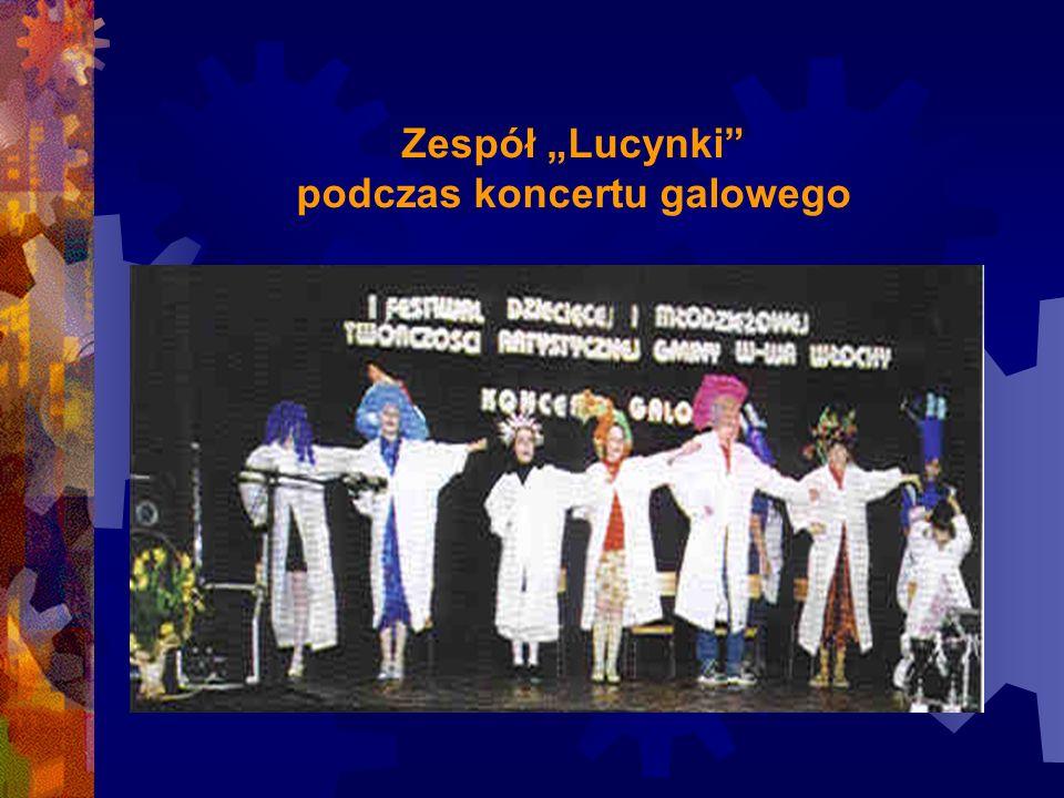 """Zespół """"Lucynki"""" podczas koncertu galowego"""