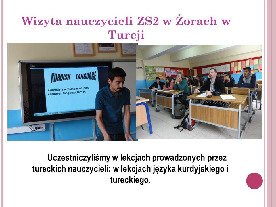 Wizyta nauczycieli ZS2 w Żorach w Turcji Ważnym punktem programu naszej wizyty w Turcji, były spotkania z przedstawicielami władz lokalnych w Van i Yuksekova, które dotyczyły takich kwestii jak: życie codzienne mieszkańców, sukcesy i porażki, szkolnictwo, wspieranie projektów europejskich etc.