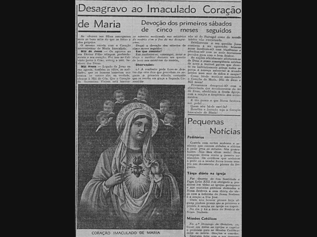 Stolica Apostolska  zaaprobowała objawienia fatimskie, tj.:  nie zaaprobowała innych objawień, które miała Sł.