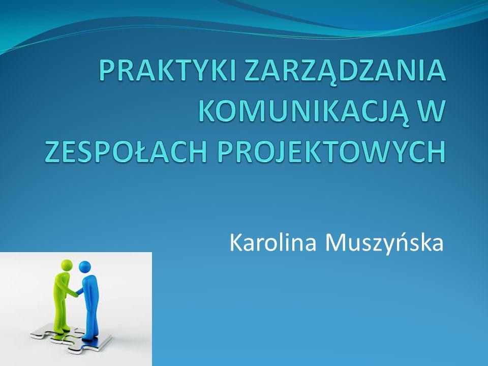 Spis zagadnień Wprowadzenie Znaczenie zarządzania komunikacją dla powodzenia projektu Praktyki zarządzania komunikacją w zespołach projektowych strategiczne informacyjne emocjonalne praktyczne Podsumowanie