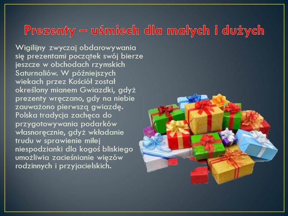 Umieszczanie choinek w naszych domach na okres świąt Bożego Narodzenia jest jedną z najmłodszych tradycji wigilijnych. Początkowo, w tym również na zi
