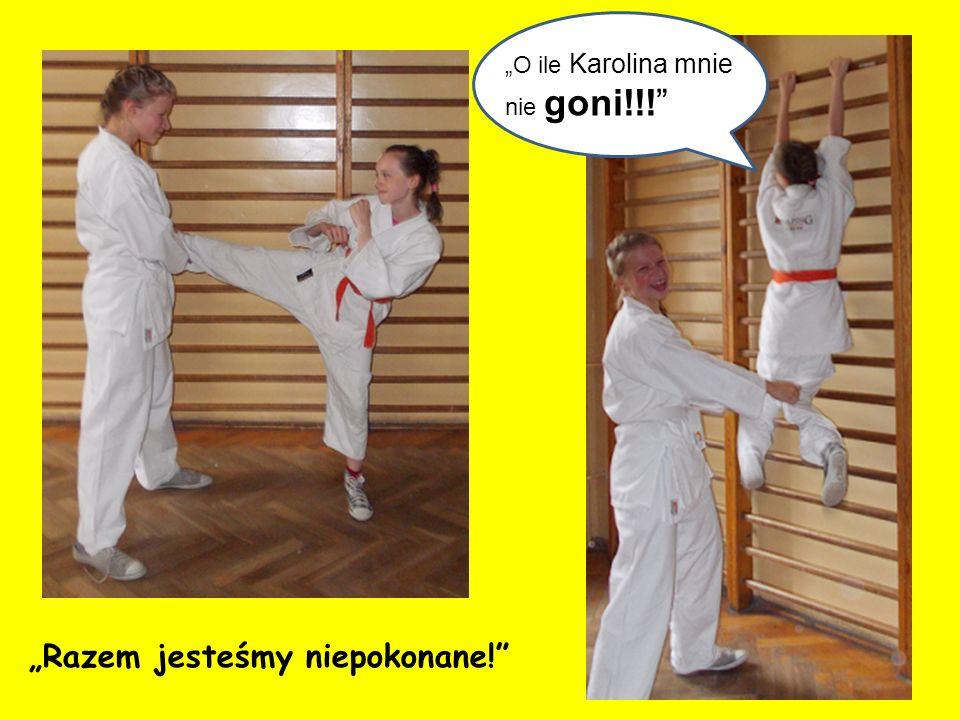 Monika jest jedną z superbohaterek.Mała, niepozorna….ale szybka i zwinna jak Bruce Lee.