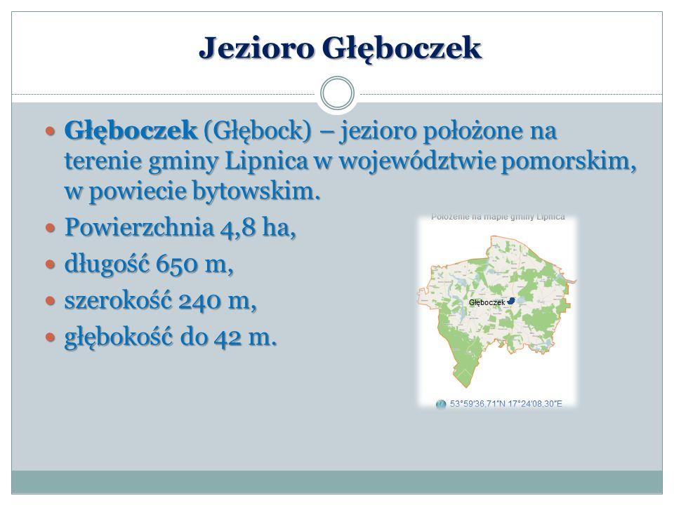 Jezioro Głęboczek Głęboczek (Głębock) – jezioro położone na terenie gminy Lipnica w województwie pomorskim, w powiecie bytowskim. Głęboczek (Głębock)