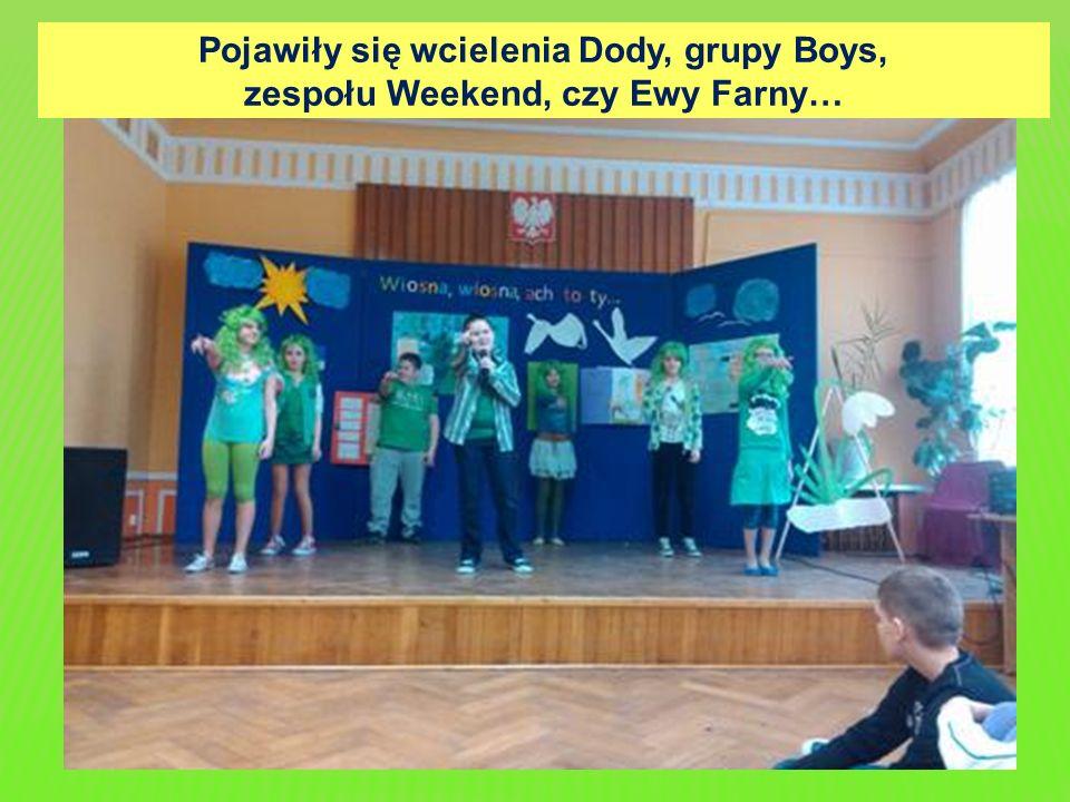 Pojawiły się wcielenia Dody, grupy Boys, zespołu Weekend, czy Ewy Farny…