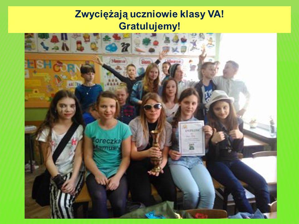 Zwyciężają uczniowie klasy VA! Gratulujemy!