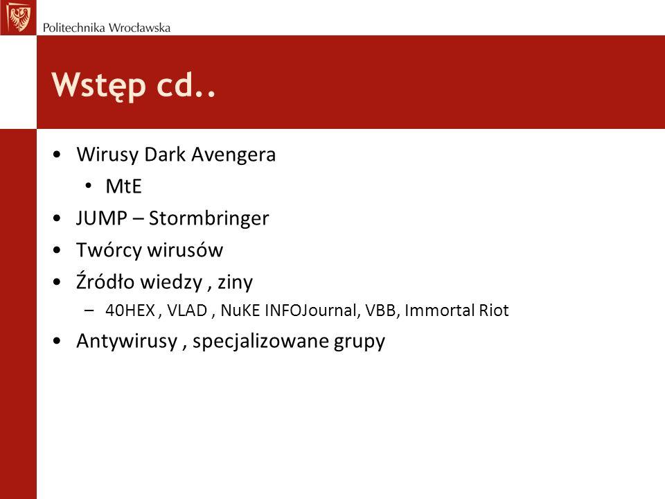 """dobrzy vs ""źli CARO, EICAR, CERT, AVAR vs VX heavens, 29A Labs, RRLF, EOF Project, F-13 Labs, Code Breakers Journal"