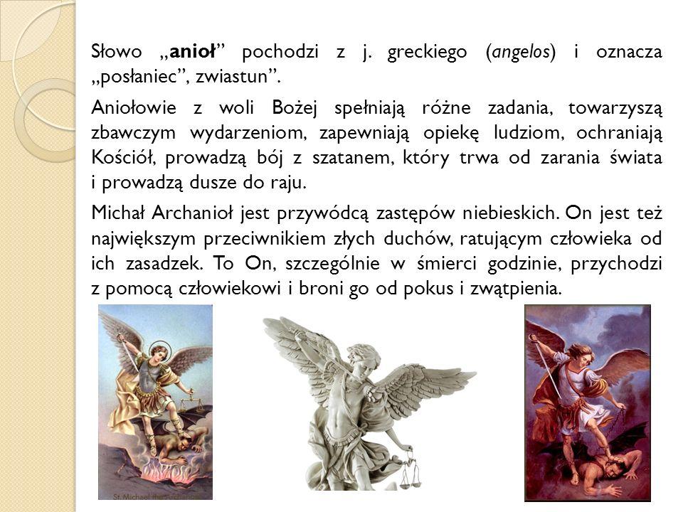 Aniołowie to istoty stworzone na obraz i podobieństwo Boże, które promieniują tym Bożym podobieństwem w wyższym stopniu od nas, stworzeń ludzkich.