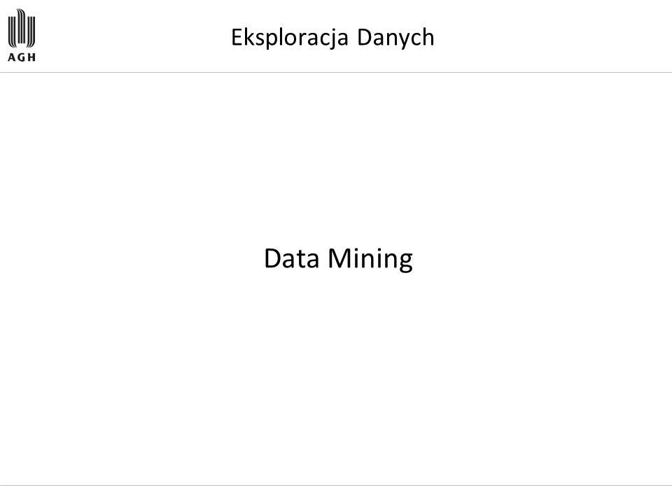 Eksploracja Danych Data Mining