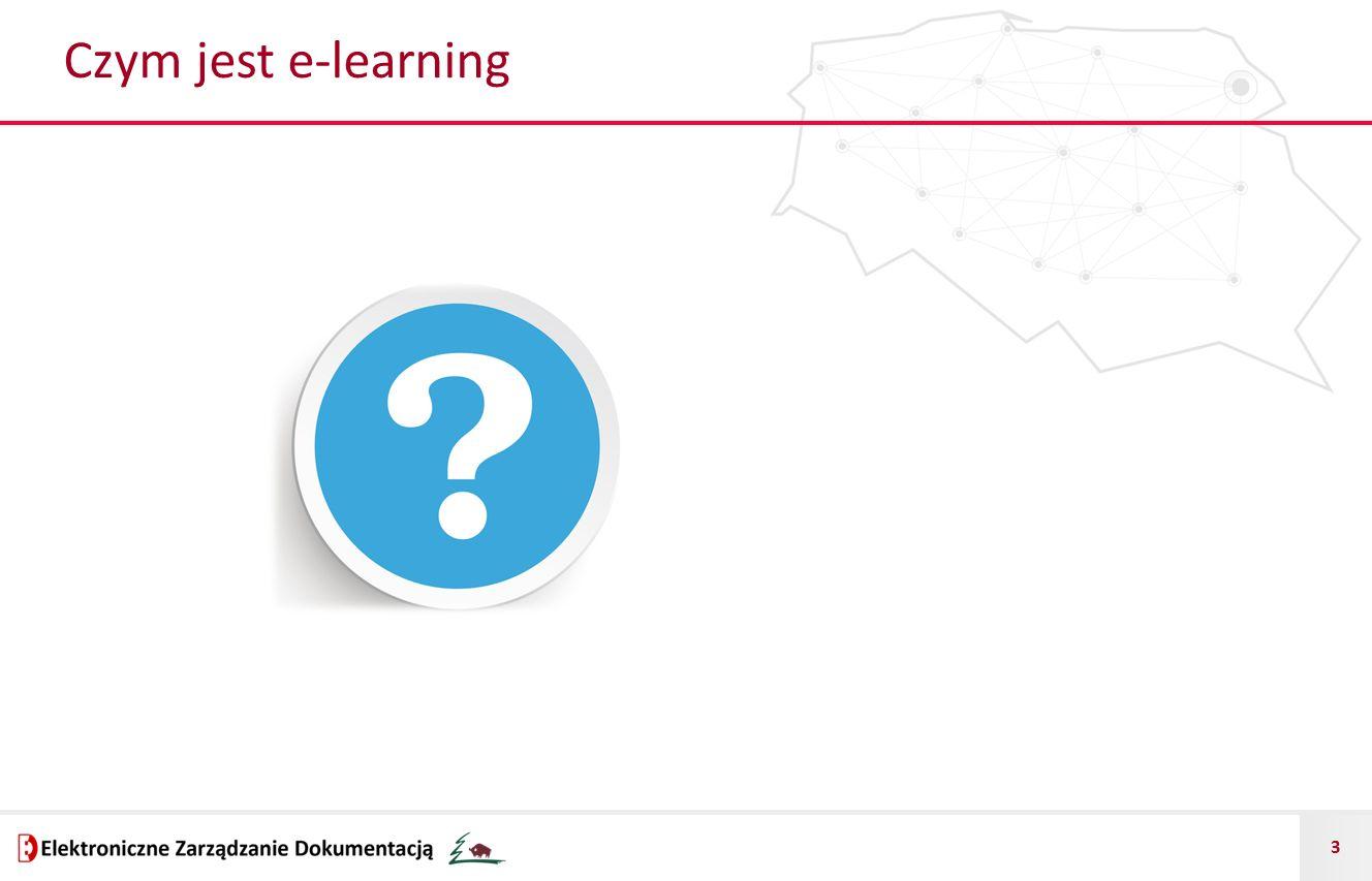 4 E-learning - definicja E-learning to inaczej uczenie z wykorzystaniem technologii internetowych, głównie przez przeglądarkę.