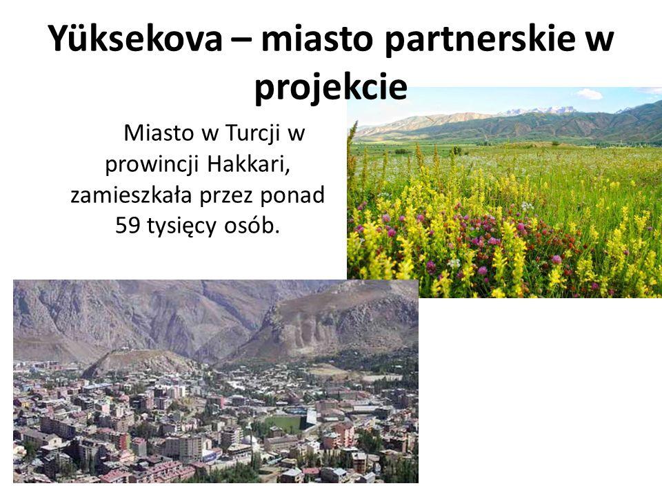 Yüksekova – miasto partnerskie w projekcie Miasto w Turcji w prowincji Hakkari, zamieszkała przez ponad 59 tysięcy osób.