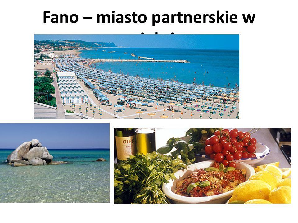 Fano – miasto partnerskie w projekcie