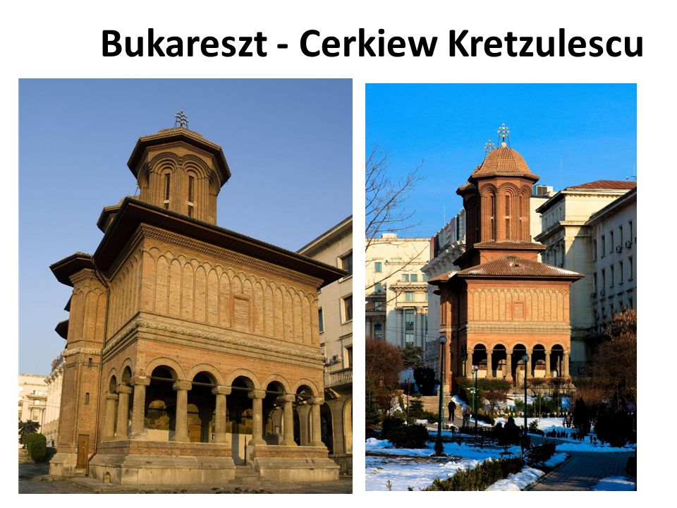 Bukareszt - Cerkiew Kretzulescu