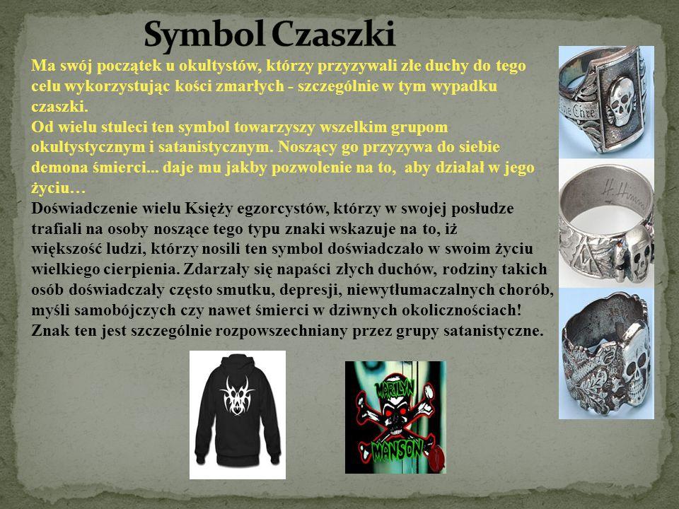 Ma swój początek u okultystów, którzy przyzywali złe duchy do tego celu wykorzystując kości zmarłych - szczególnie w tym wypadku czaszki. Od wielu stu