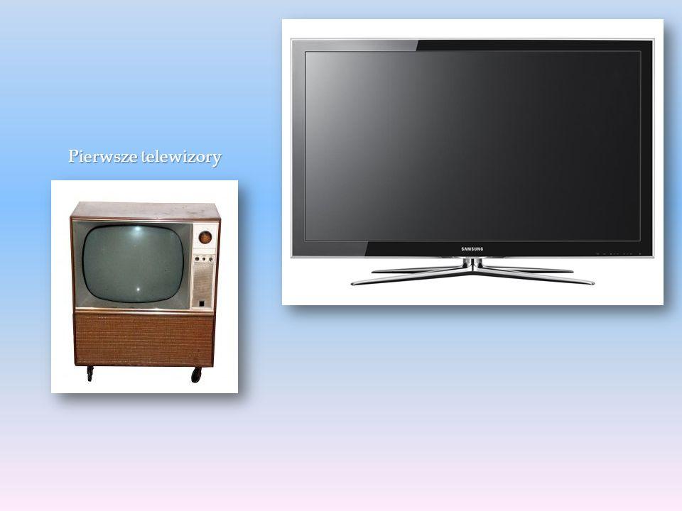 Pierwsze telewizory