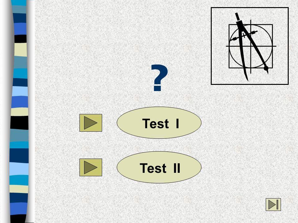 Test ITest II