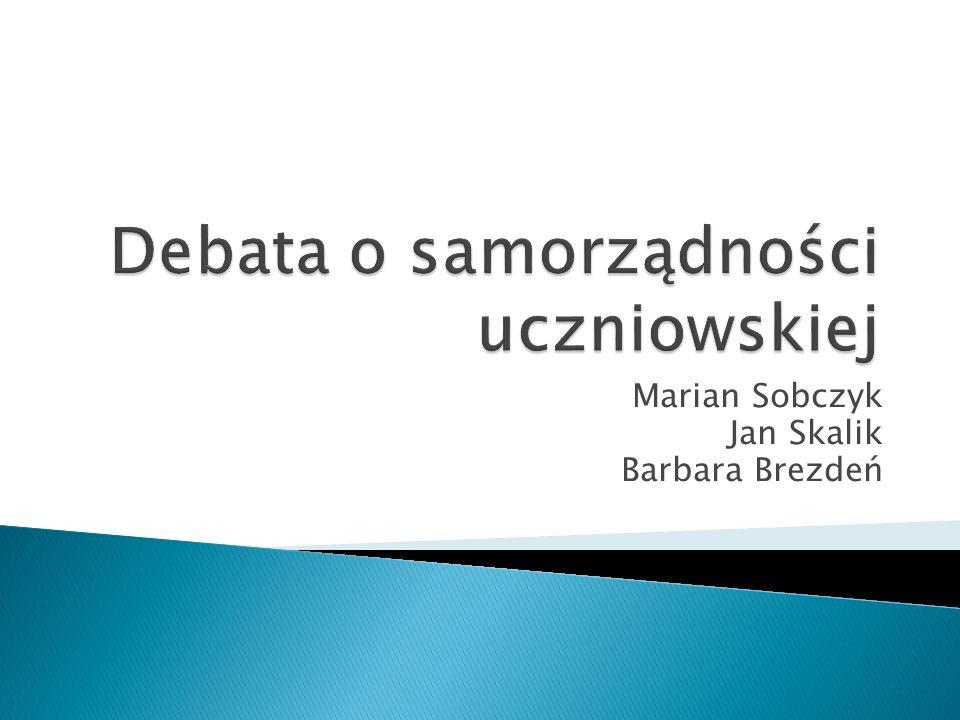 Marian Sobczyk Jan Skalik Barbara Brezdeń