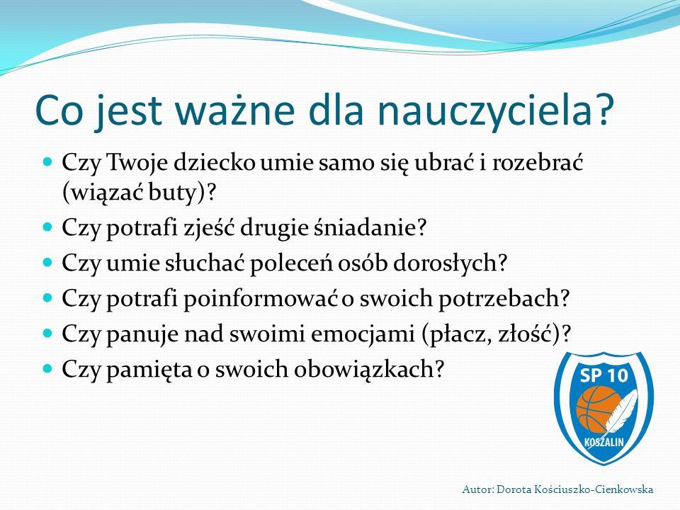 DZIEŃ OTWARTY SZKOŁY 2013 Autor: Dorota Kościuszko-Cienkowska