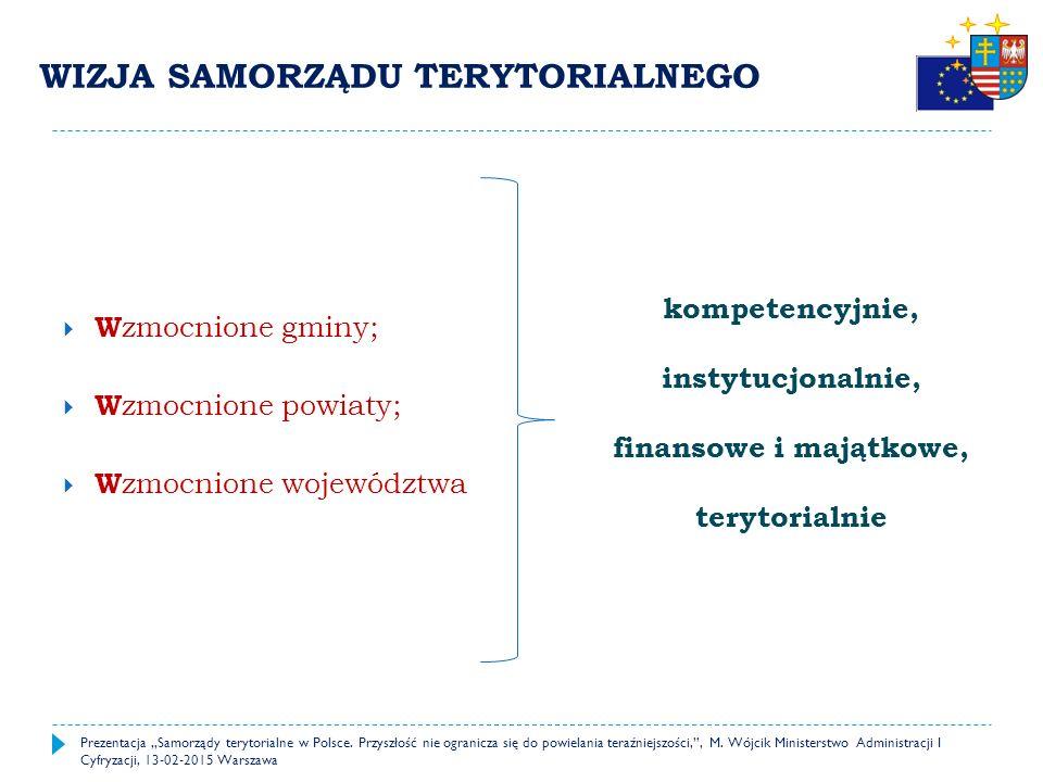 """2015 – 2020 Wdrażanie nowych rozwiązań prawnych i finansowych 2020 – 2022 Korekta wprowadzonych rozwiązań, zdynamizowanie procesów osiągania zaplanowanego modelu 2025 – 2027 Nowy model działania samorządu terytorialnego w Polsce Prezentacja """"Samorządy terytorialne w Polsce."""