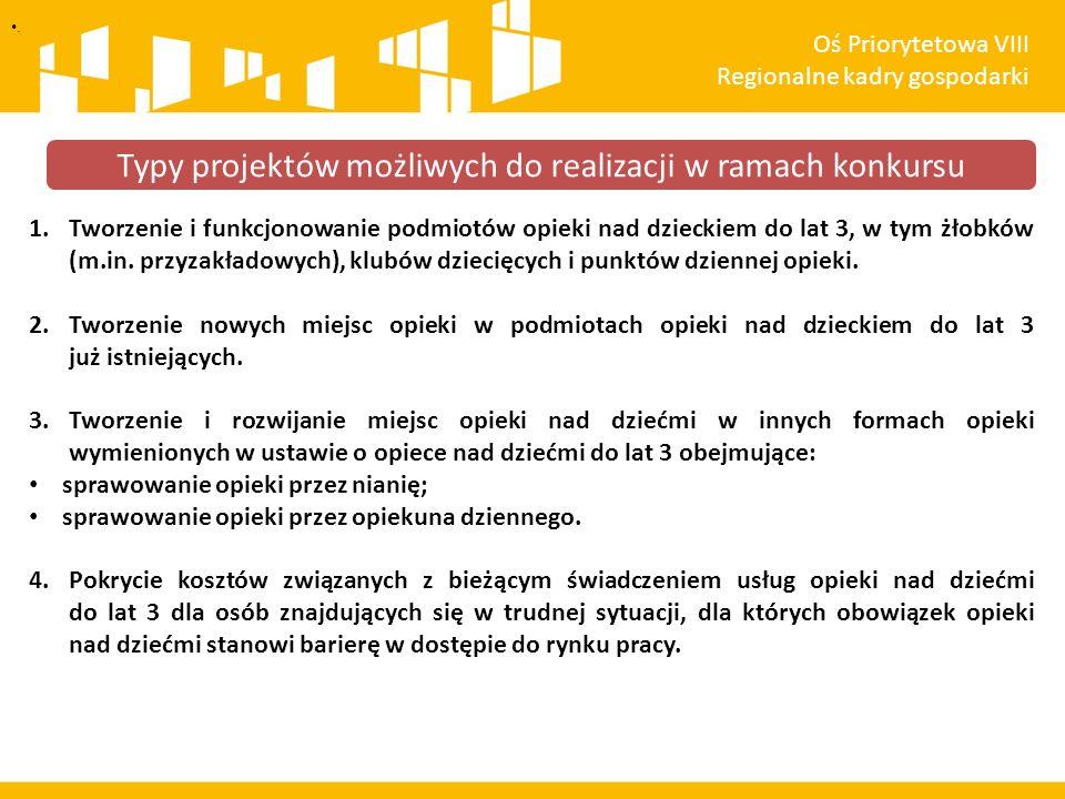 . Oś Priorytetowa VIII Regionalne kadry gospodarki Zachęcamy do korzystania ze strony: rpo.slaskie.pl