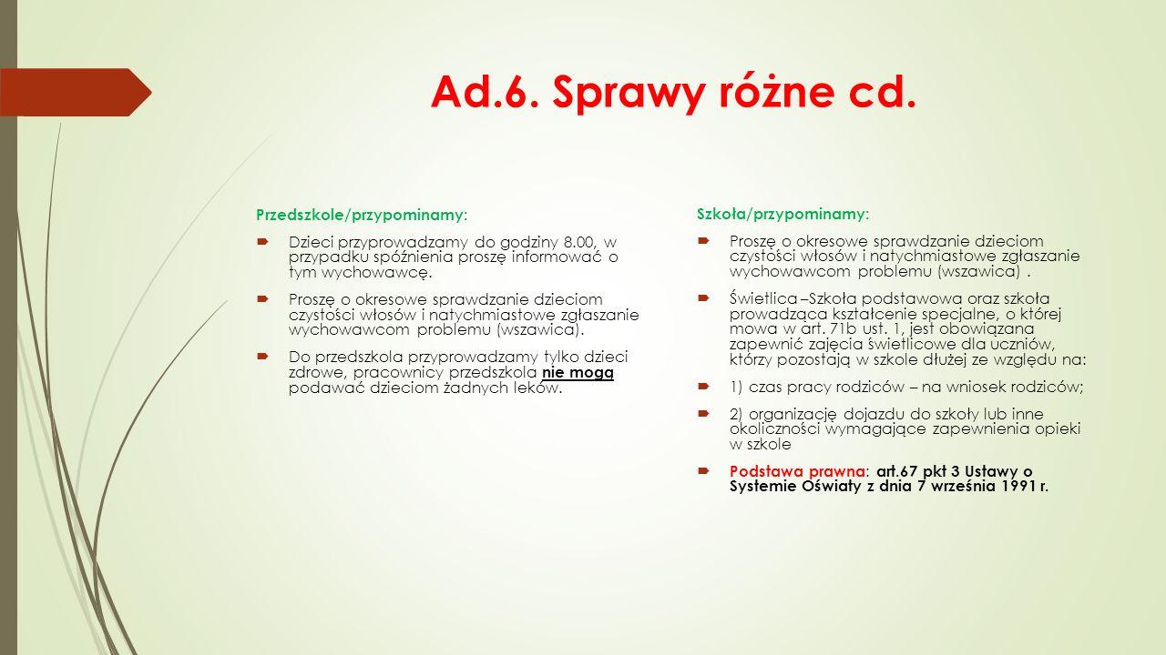 Realizowane programy Przedszkole:  Góra Grosza. Cała Polska Czyta Dzieciom.