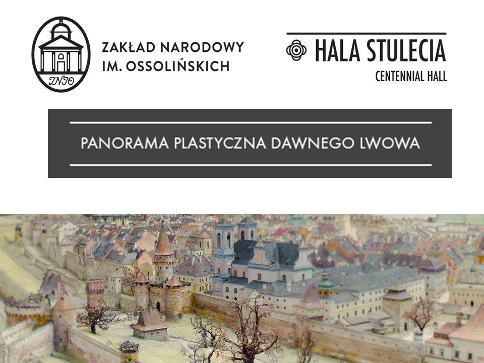 nowa, stała wystawa zlokalizowana w kuluarach Hali Stulecia prezentacja zabytkowej makiety przedstawiającej Lwów w XVIII w.