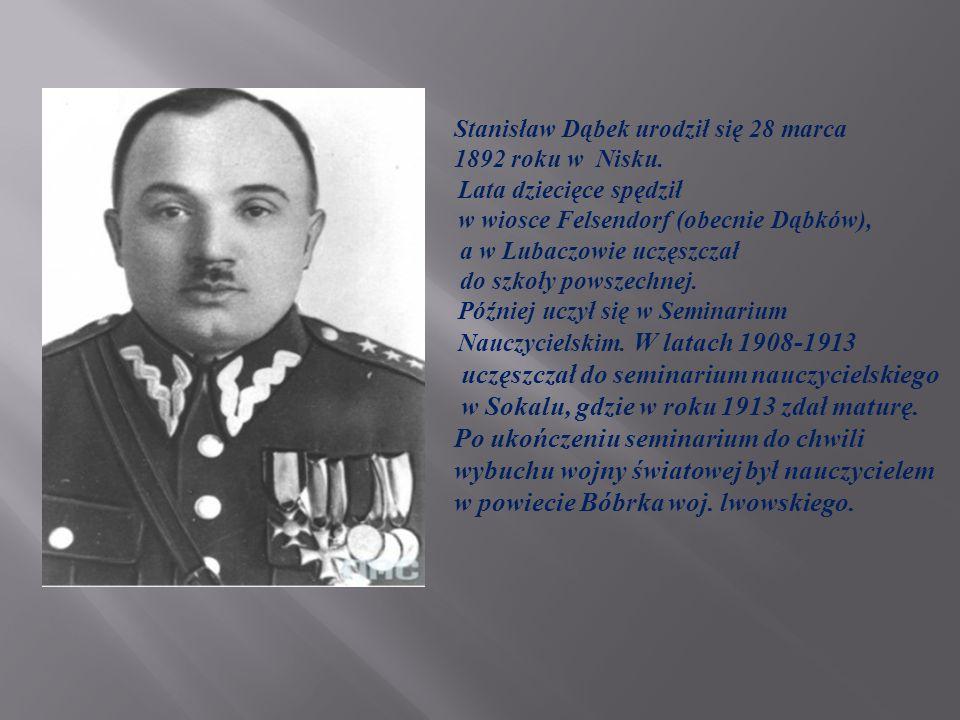 Przed wybuchem wojny zapisał się na Wydział Prawa Uniwersytetu Lwowskiego, ale wkrótce został powołany do służby wojskowej w austriackim 34 pułku strzelców w Jarosławiu.