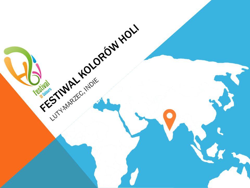 FESTIWAL KOLORÓW HOLI LUTY-MARZEC, INDIE