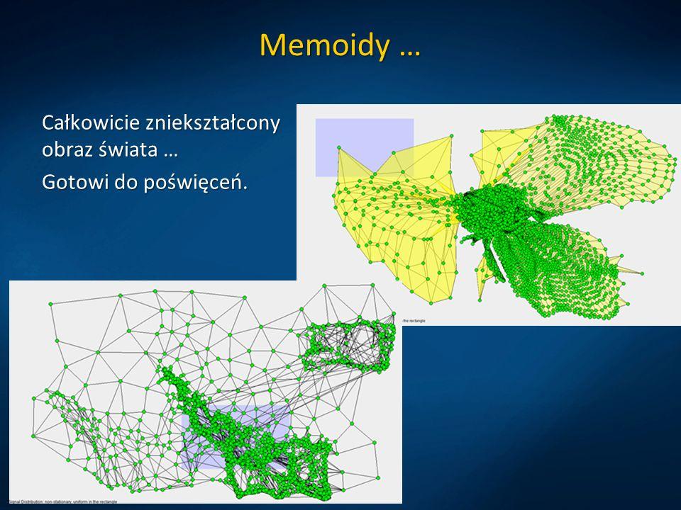 Memoidy … Całkowicie zniekształcony obraz świata … Gotowi do poświęceń.