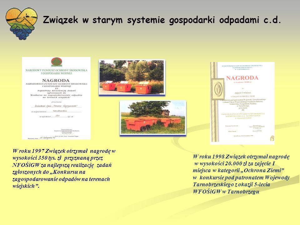 ZUOK Janczyce w nowym systemie gospodarki odpadami Nowa ustawa o odpadach W dniu 14 grudnia 2012 r.