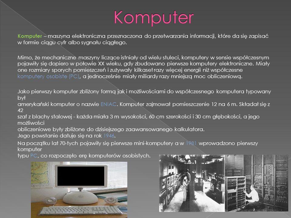 Tablet – przenośny komputer większy niż telefon komórkowy lub palmtop, którego główną właściwością jest posiadanie dużego ekranu z zastosowaną technologią Multi-Touch.