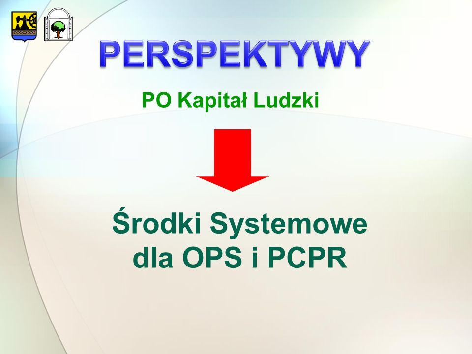PO Kapitał Ludzki Środki Systemowe dla OPS i PCPR