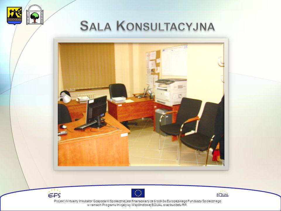 Projekt Wirtualny Inkubator Gospodarki Społecznej jest finansowany ze środków Europejskiego Funduszu Społecznego w ramach Programu Inicjatywy Wspólnotowej EQUAL oraz budżetu RP.