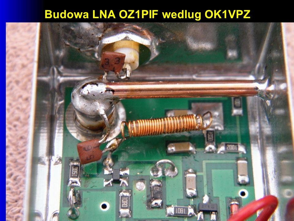 Budowa LNA OZ1PIF wedlug OK1VPZ