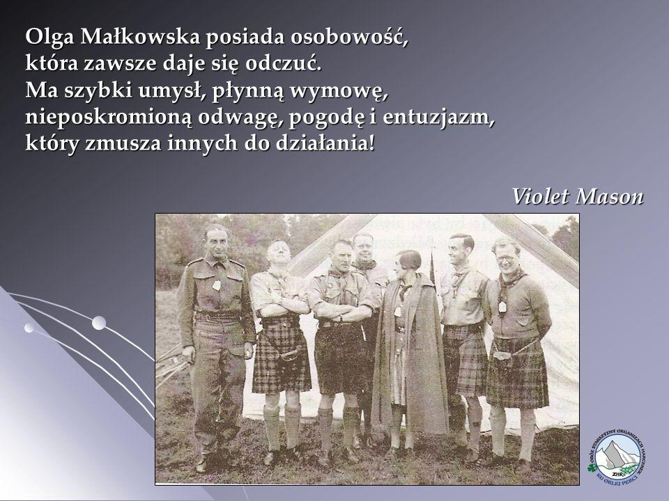 Olga Małkowska posiada osobowość, która zawsze daje się odczuć.