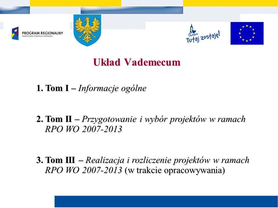 1. Tom I – Informacje ogólne 2.