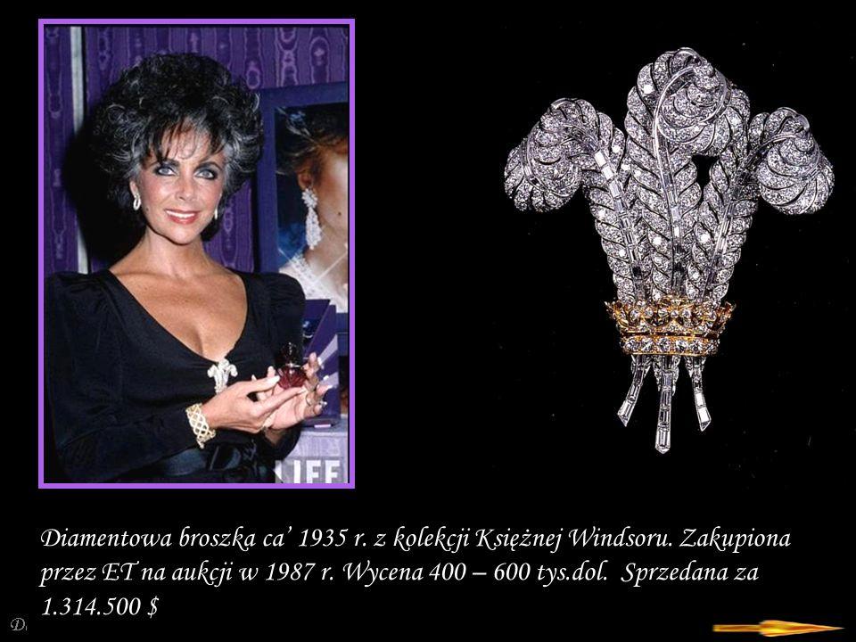 Da - Ma Szmaragdowo-brylantowa broszka z motywem kwiatowym firmy Bulgari.