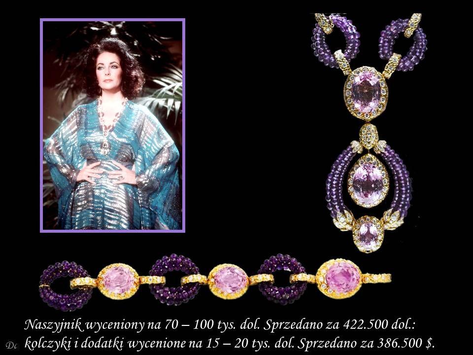 Da - Ma Koralowo – diamentowo – szmaragdowa bransoletka od Webb'a z 1967 r.