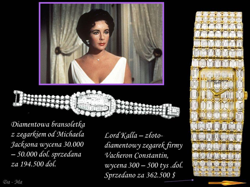 Da - Ma Zegarek na bransoletce w kształcie węża wysadzanej diamentami firmy Bulgari.