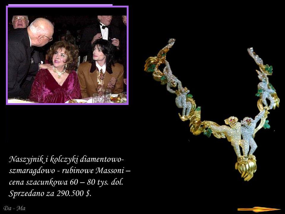 Da - Ma Lord Kalla – złoto- diamentowy zegarek firmy Vacheron Constantin, wycena 300 – 500 tys.dol.