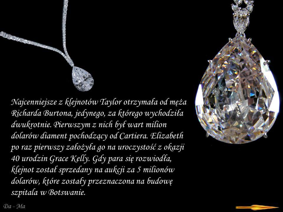 Diament Taylor-Burton – 69,4 ct zakupiony w Firmie Jubilerskiej Cartier w 1969 r.