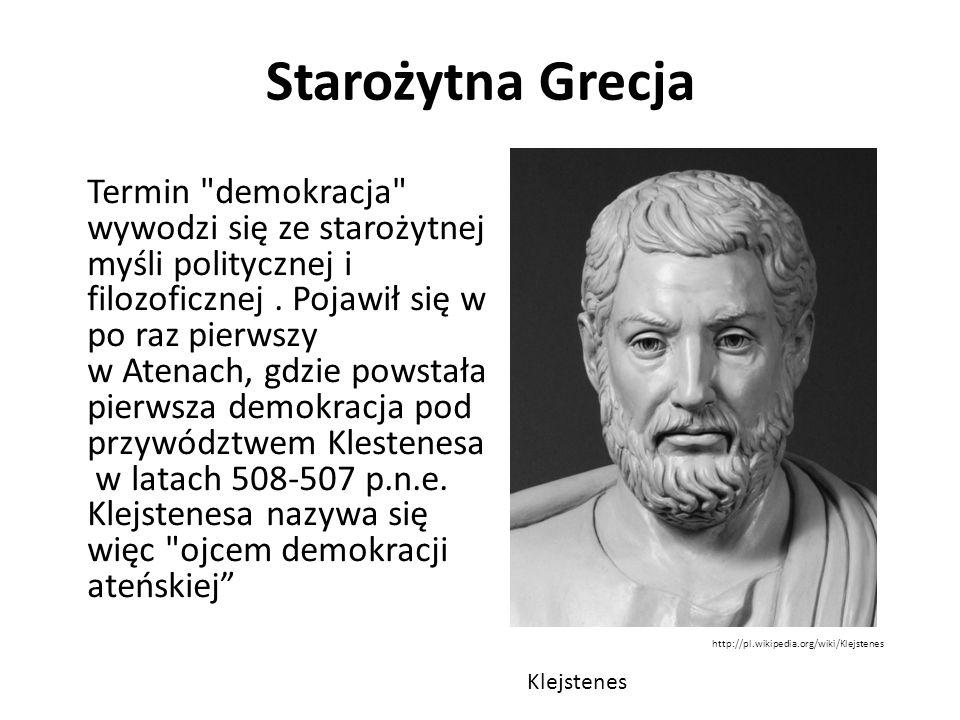 Starożytna Grecja Termin